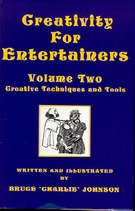 Creativity For Entertainers Volume Two Cover